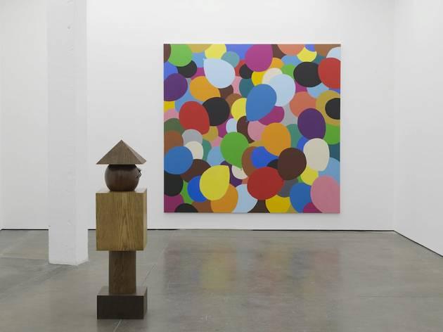 Djordje Ozbolt (Installation view of 'Mens sana in corpore sano' at Herald St, 2014)