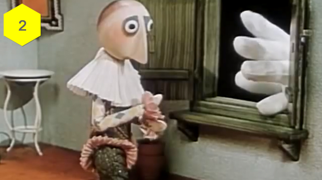 """The Hand"" (Jirí Trnka, 1965)"