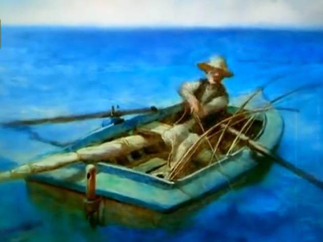 """""""The Old Man and the Sea"""" (Aleksandr Petrov, 1999)"""
