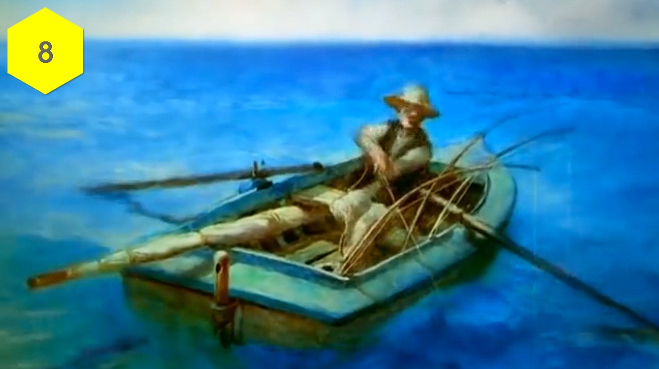 """The Old Man and the Sea"" (Aleksandr Petrov, 1999)"