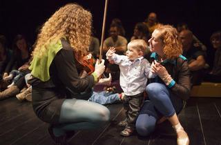 Concerts pour les bébés avec Carles Pedragosa et Paulo Lameiro