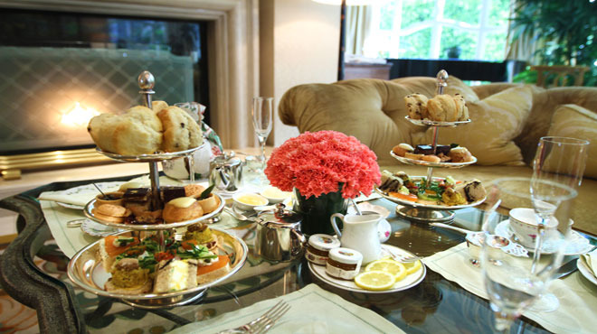 Best tea served with bubbly: Peninsula Beverly Hills