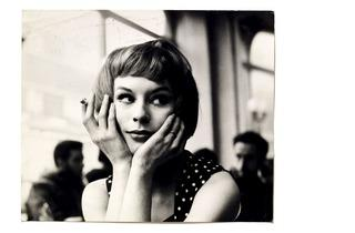 John Deakin (Portrait of an unknown girl in a café, 1960s)
