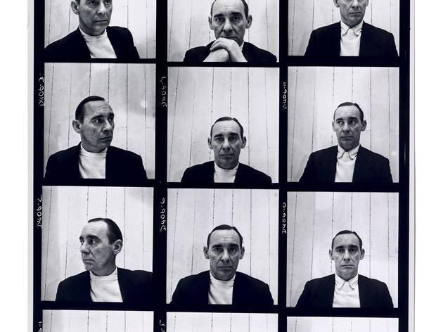 John Deakin (contact sheet of self-portraits, 1952 (Vogue))