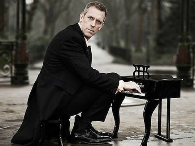 Hugh Laurie with the Copper Bottom Band