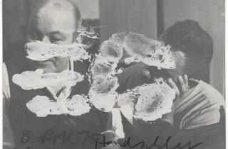 Dieter Roth, Arnulf Rainer ('Handschlag', 1975)