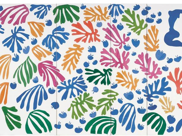 Henri Matisse ('The Parakeet and the Mermaid' 1952)