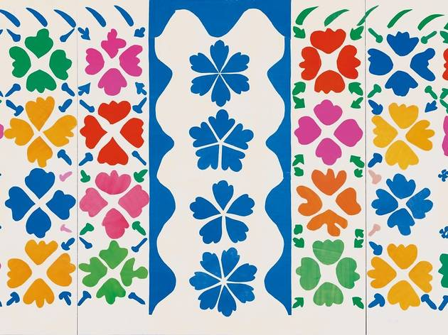 Henri Matisse ('Large Composition with Masks' 1953)