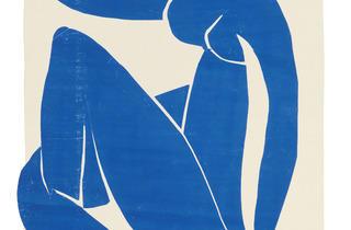 Henri Matisse ('Blue Nude II' spring 1952)