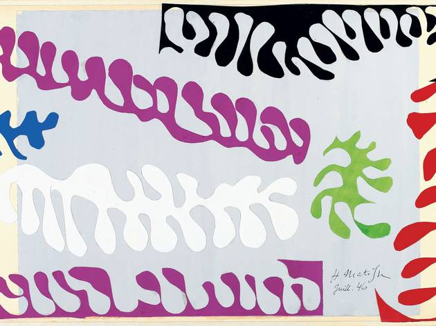 Henri Matisse ('The Lagoon' 1946 )