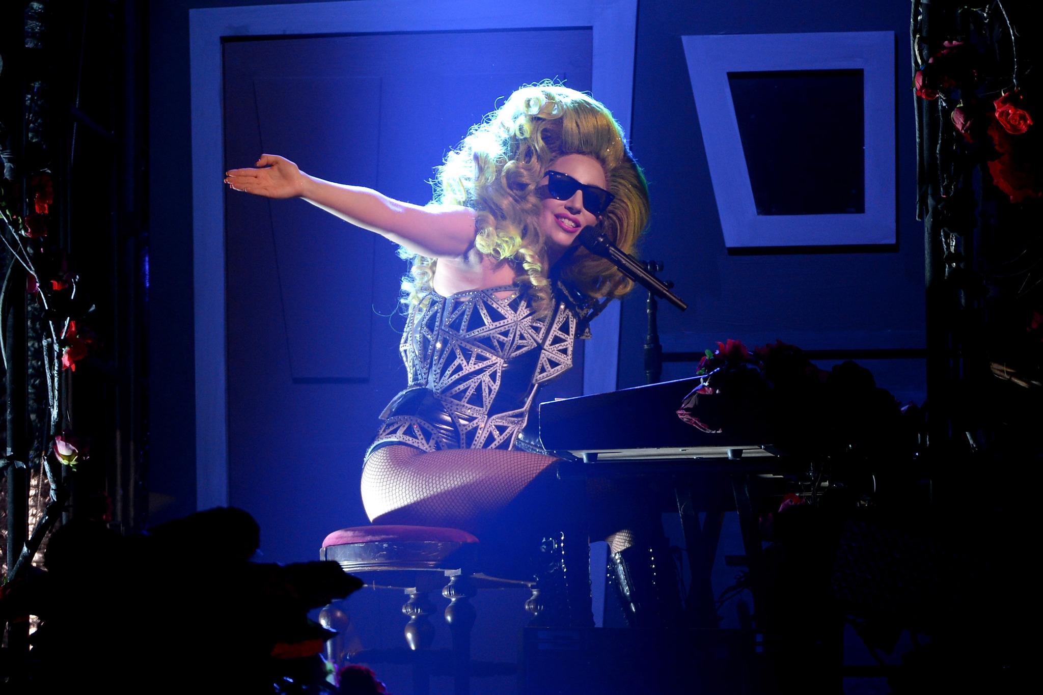 Lady Gaga at Roseland Ballroom