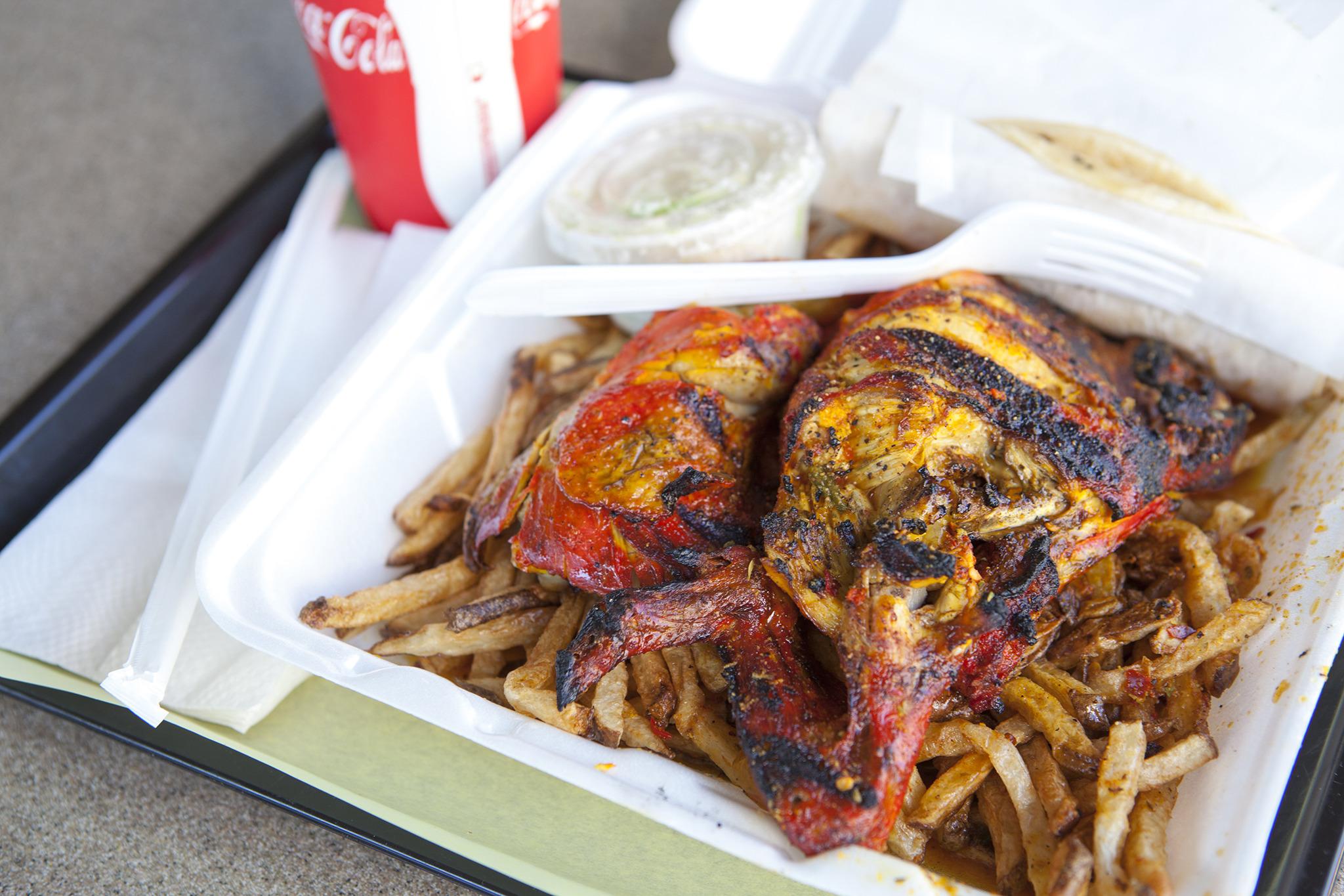 Dino's Chicken & Burgers' Pollo Maniaco