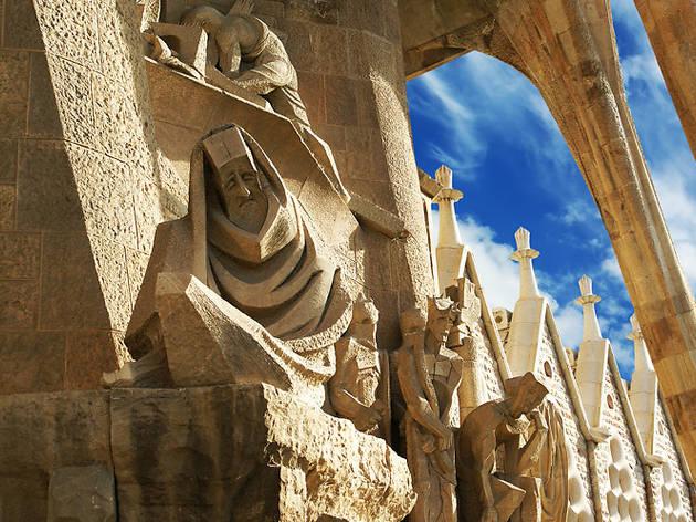 Façana de la Passió, Josep Maria Subirachs
