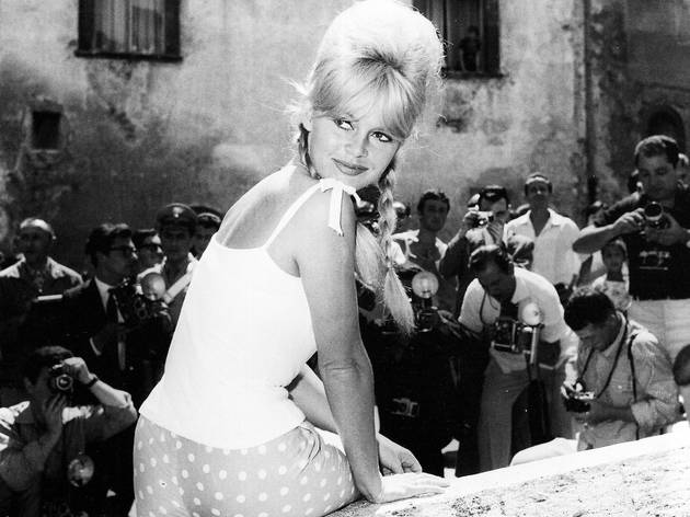 Marcello Geppetti  (Brigitte Bardot in Spoleto, June 1961)