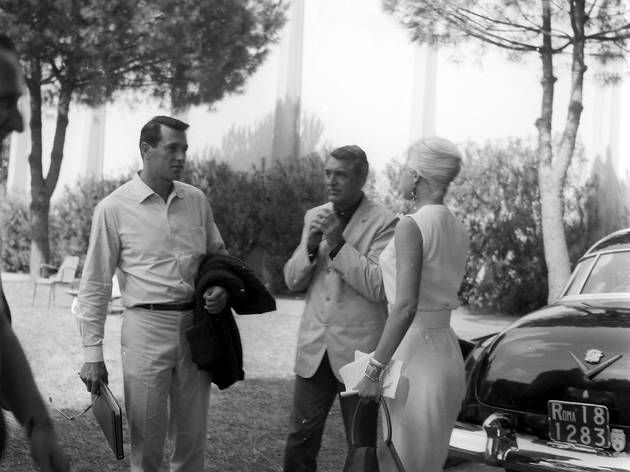 Marcello Geppetti (Rock Hudson and Cary Grant at Cinecittà, June 1961)