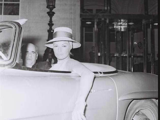 Marcello Geppetti (Jane Mansfield and Mike Hargitay leaving 'Piccola Budapest', Rome, )