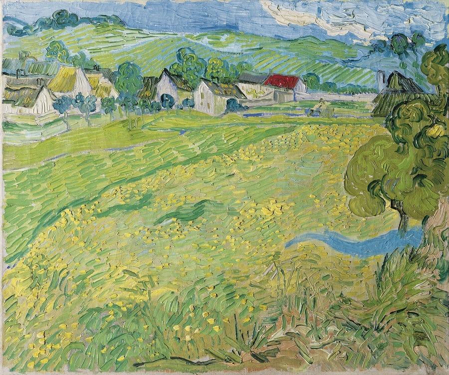 'Les Vessenots' in Auvers, Vincent van Gogh