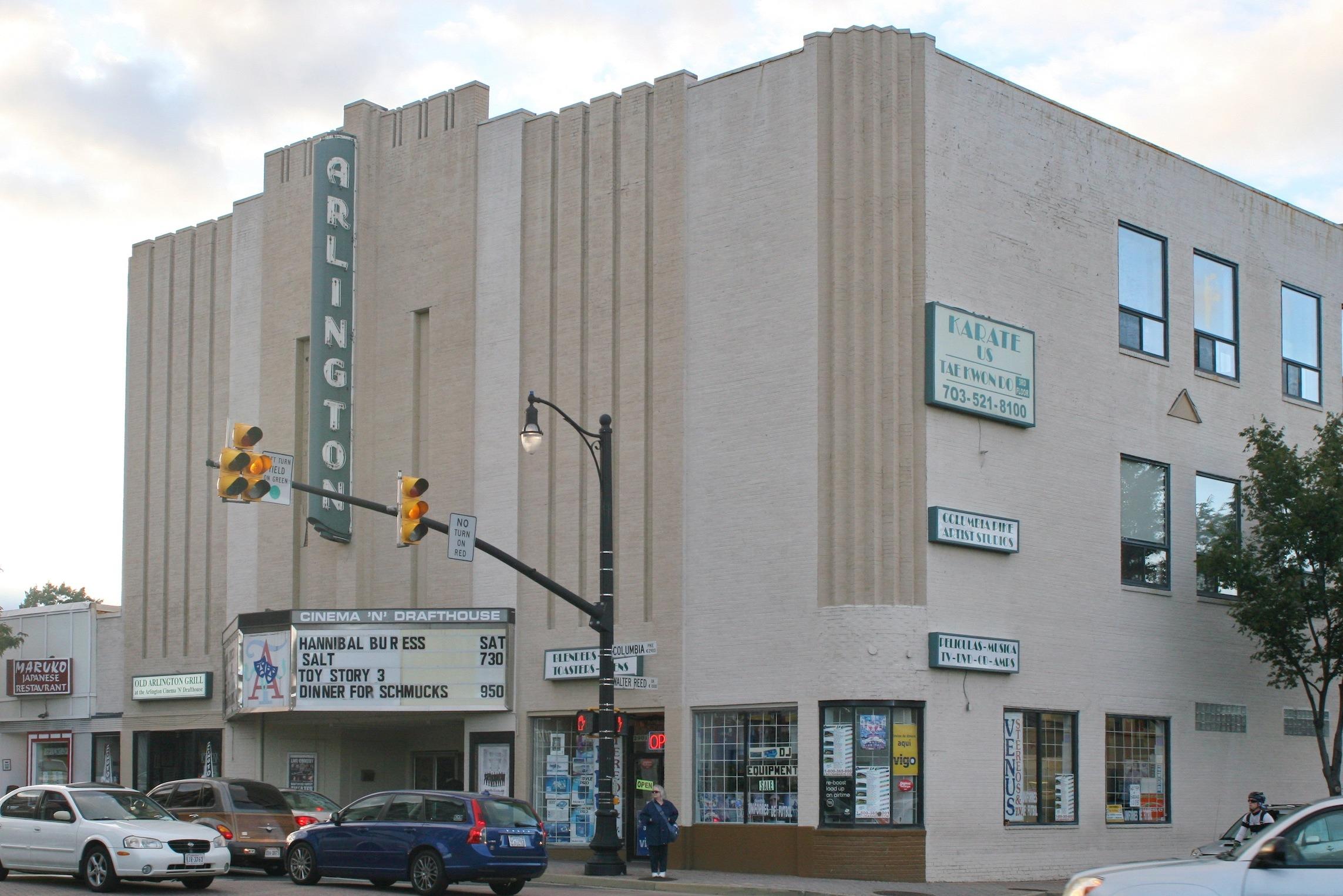 Do dinner and a movie at the Arlington Cinema & Drafthouse