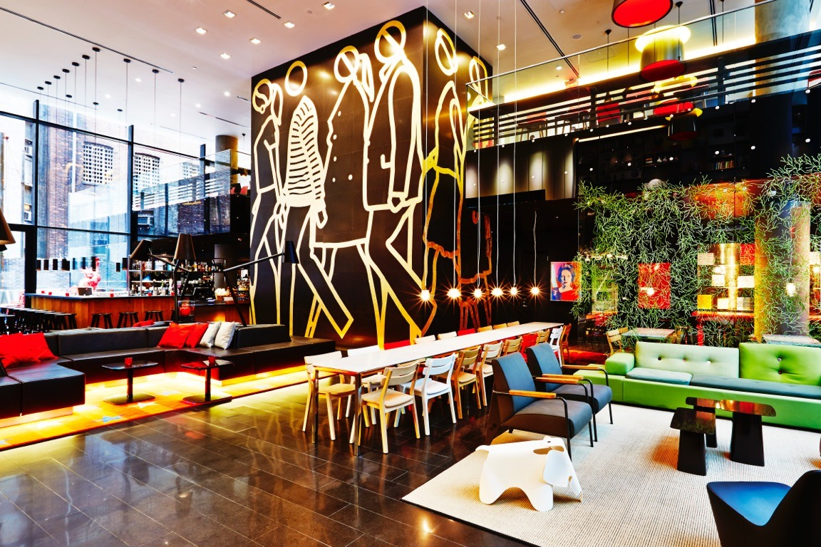 Best hotel lobbies with free wi fi in new york city for Ideal hotel design avis