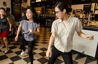 Swing Dance at Publika by Lindy KL
