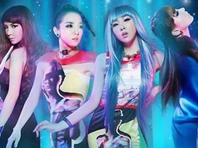 2NE1 live in KL