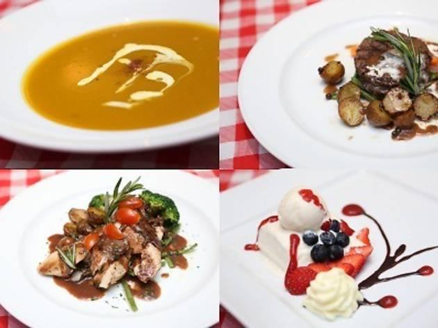 Bistro Richard Valentine's Day menu