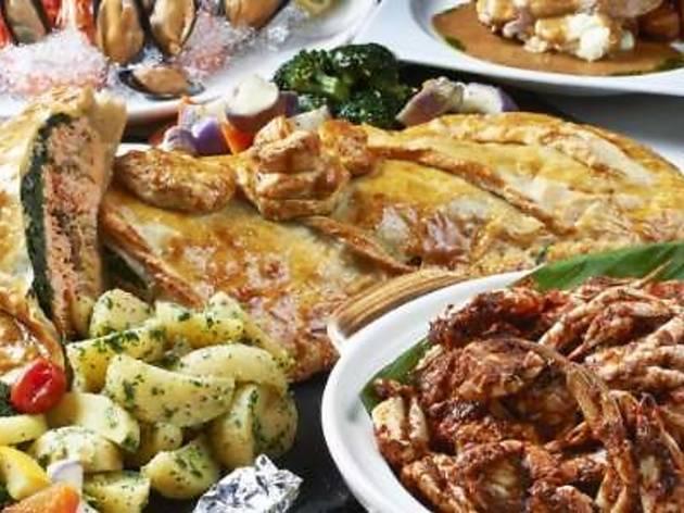 Nook Valentine�s Day buffet dinner