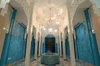 Hammam gommage with seven flowers bath