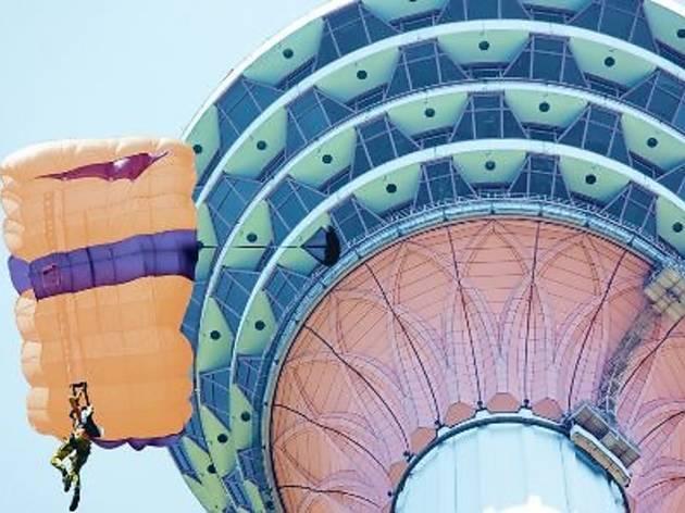 KL Tower International Jump Malaysia