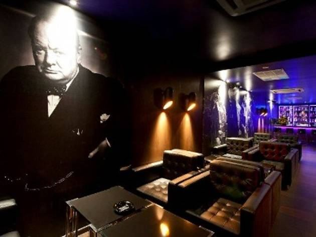 Dinner with Churchill at Whisky Tango Foxtrot