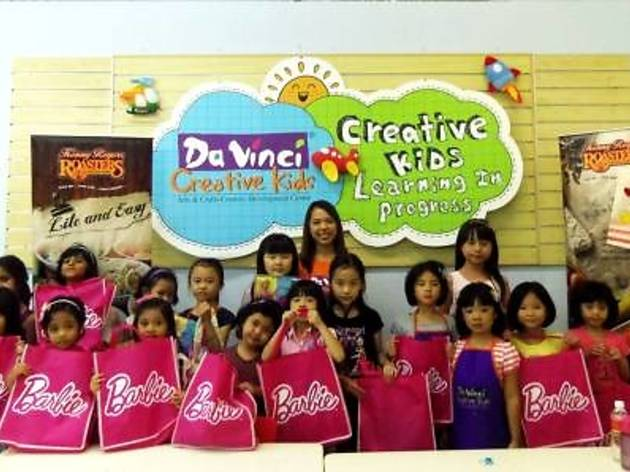 Barbie & Da Vinci Creative Kids Creative Workshops