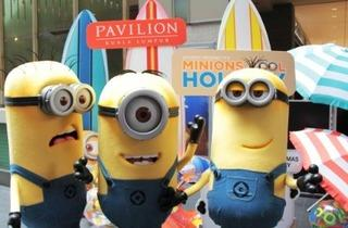 'Hooray Hooray it�s Minions Cool Holiday' at Pavilion KL