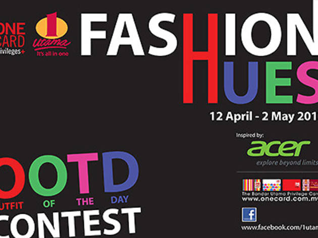 1 Utama Outfit of the Day contest