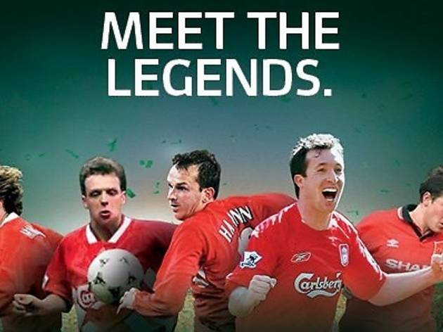 Carlsberg 'Meet the Legends' viewing party