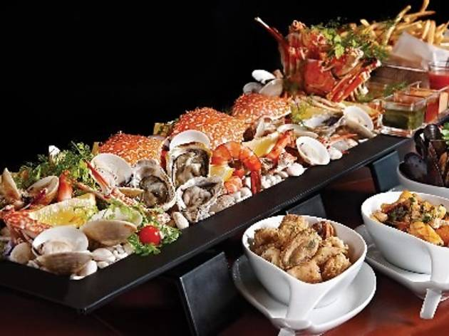 Seafood promotion at Gastro Sentral