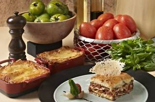 Lasagna promotion at Cascade