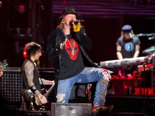 Guns N� Roses live in Malaysia