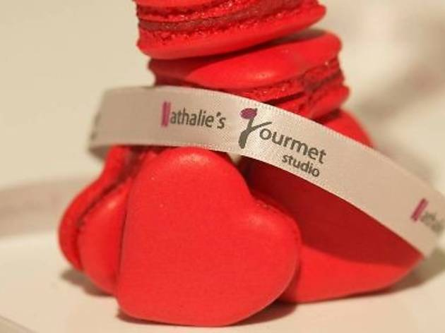 Nathalie's Gourmet Studio Valentine's menu