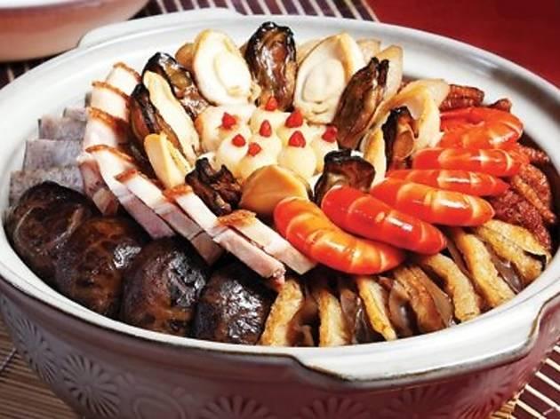 Restoran Oversea Chinese New Year set menu