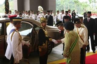 Revealed: Malaysia�s Majesty � Twice a King