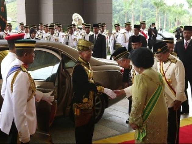 Revealed: Malaysia�s Majesty � Twice a King