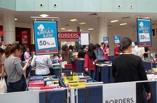 Borders Bargain Bash