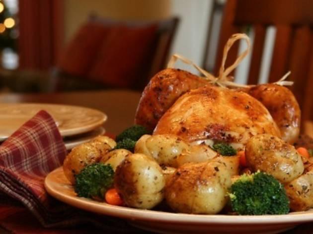 Bintang Revolving Restaurant Christmas Eve set dinner