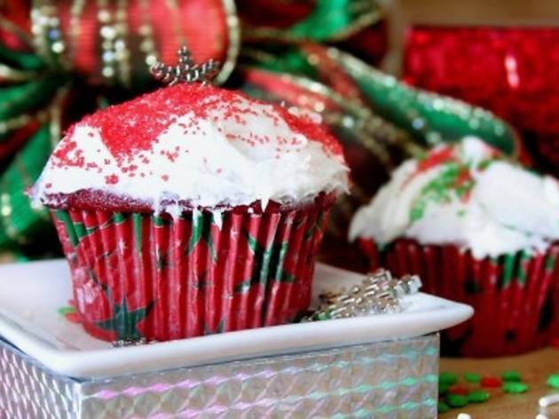 Christmas cooking lesson: Cupcakes