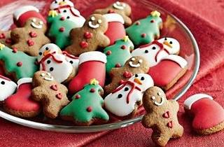 Christmas gingerbread party