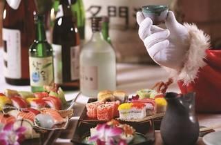 Enju Christmas Eve sushi dinner