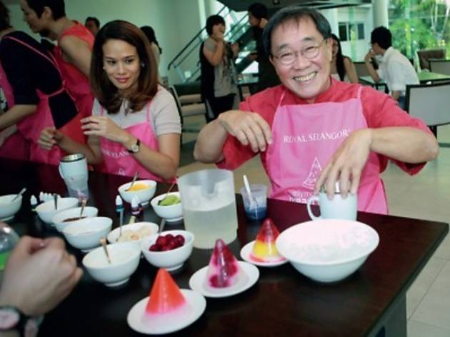 Royal Selangor jelly making workshop
