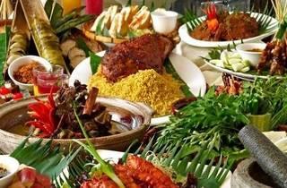 La Maison Ramadhan buffet