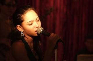 Dasha Logan at La Bodega Lounge