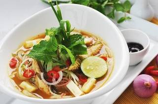 Asam laksa lunch special at WIP